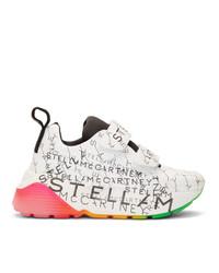Stella McCartney White Monogram Eclypse Sneakers