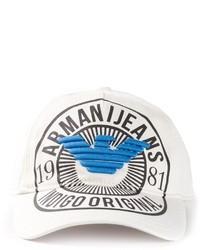 Armani Jeans Logo Baseball Cap