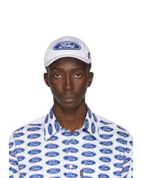 Versace White Ford Edition Logo Cap