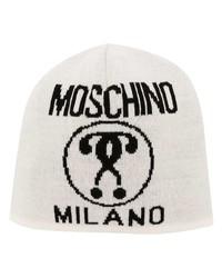 Moschino Logo Print Beanie