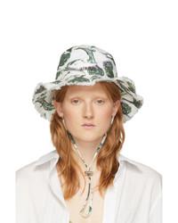 Jacquemus White Artichoke Le Bob Artichaut Bucket Hat