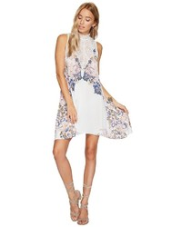 White Print Cami Dress