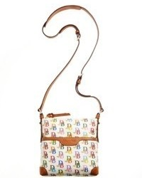 Dooney & Bourke Handbag Multi Db Letter Carrier Crossbody