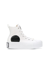 McQ Alexander McQueen Swallow Platform High Top Sneakers