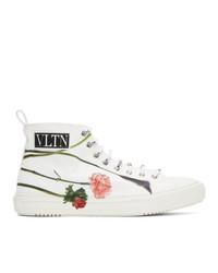 Valentino White Garavani Emilio Villalba Edition Vltn Giggies High Top Sneakers