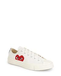 Comme des Garcons Play X Converse Chuck Taylor Low Top Sneaker