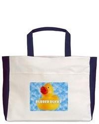 Artsmith Inc Beach Tote Rubber Ducky Boy Hd