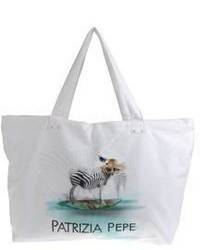 Patrizia Pepe Beachwear Large Fabric Bags
