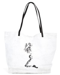 Religion Canvas Shopper Bag White