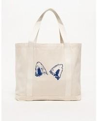 Fox Ears Canvas Bag