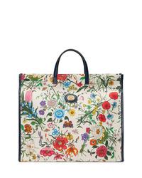 Gucci Large Flora Tote Bag