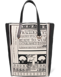 JW Anderson Med Printed Canvas Tote