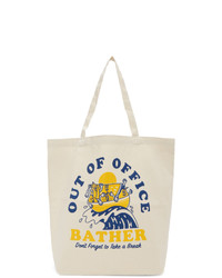 Bather Off White Out Of Office Tote