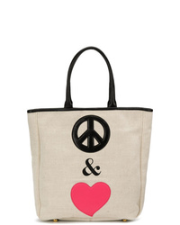 Moschino Cheap & Chic Peace Love Tote Bag