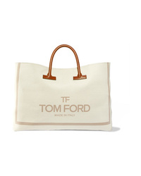 Tom Ford T Med Printed Canvas Weekend Bag