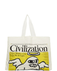 Junya Watanabe White Civilization Edition Issue 1 Vol 1 Tote