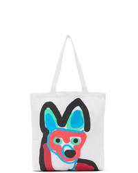 MAISON KITSUNÉ White Fox Tote