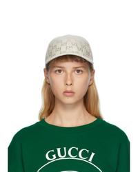 Gucci Beige Gg Cap