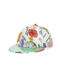 Gucci Clear Brim Silk Baseball Cap