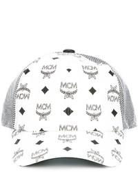 MCM Logo Print Cap