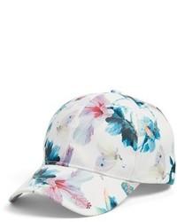 Collection XIIX Tropical Print Baseball Cap Pink