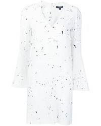 Derek lam splatter print t shirt dress medium 631590