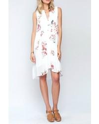 Gardenia print dress medium 560273