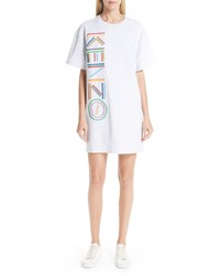 Kenzo High Summer Logo T Shirt Dress