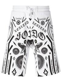 Marcelo Burlon County of Milan Multiple Prints Sweat Shorts