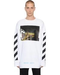Off-White Chirico Printed Long Sweatshirt