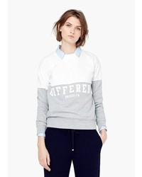 Mango Outlet Contrast Cotton Sweatshirt