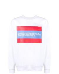 Calvin Klein Jeans Designer Bio Print Sweatshirt