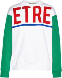 Etre Cecile Printed Cotton Jersey Sweatshirt