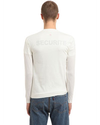 Vetements Hanes Securite Jersey Doubled T Shirt