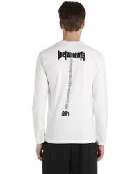 Hanes staff jersey long sleeve t shirt medium 3675464