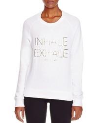 Spiritual Gangster Inhale Printed Sweatshirt