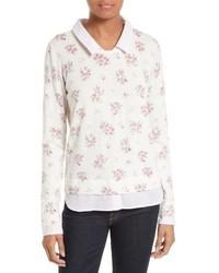 Joie Rika J Layered Look Sweater