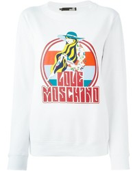 Love Moschino Multicoloured Print Sweatshirt