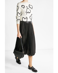 Max Mara Printed Pullover With Wool
