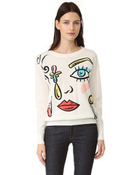 Moschino Boutique Printed Sweater