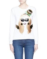Nil Mon Madonna Appliqu Sweatshirt