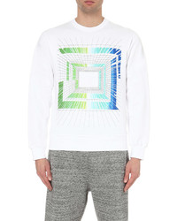 Star Wars Force For Change Peter Pilotto Graphic Print Cotton Jersey Sweatshirt