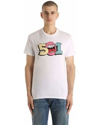 Levi's 501 Printed Cotton Jersey T Shirt