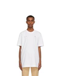 Moncler Genius 6 Moncler 1017 Alyx 9sm White Logo T Shirt