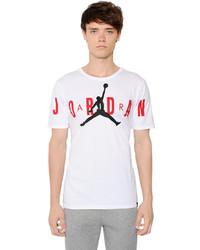 Nike Air Jordan Printed Cotton T Shirt