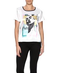 Allezy Graffiti Print T Shirt