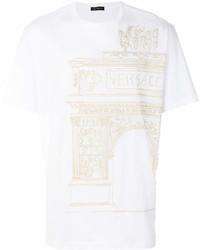 Versace Ancient Greece Print T Shirt