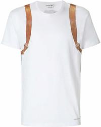 Alexander McQueen Backpack Print T Shirt