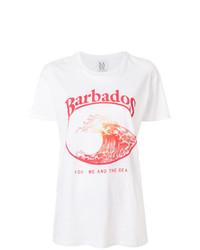 Barbados print t shirt medium 7651295