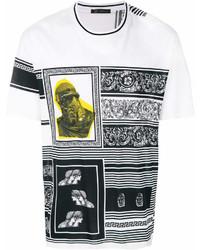Versace Baroque Print T Shirt